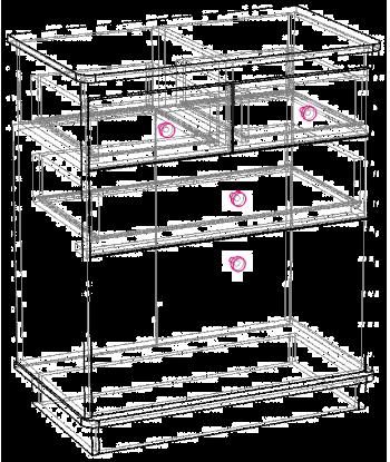 Комод К-04 схема