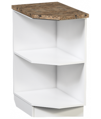Кухонный оконечный шкаф КШ-03, шириной 410 мм