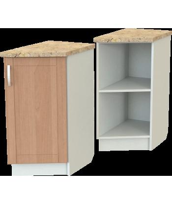Кухонный оконечный шкаф КШ-04 с дверью, шириной 370 мм