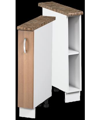 Кухонный однодверный шкаф для бутылок КШС-01, шириной 150 мм