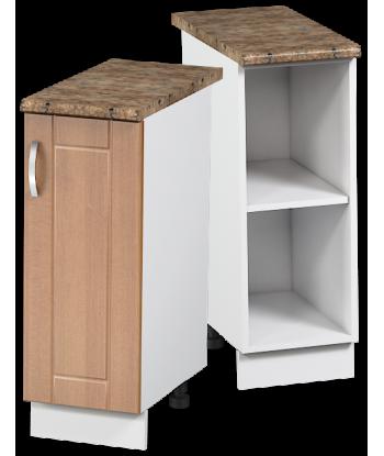 Кухонный однодверный шкаф КШС-02, шириной 300 мм