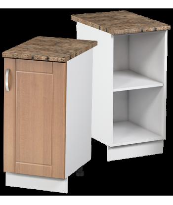 Кухонный однодверный шкаф КШС-03, шириной 400 мм