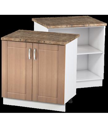 Кухонный двухдверный шкаф КШС-06, шириной 800 мм