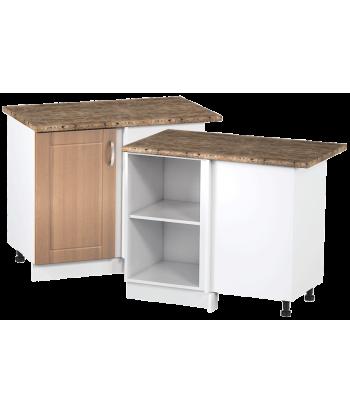 Кухонный угловой шкаф КШС-14, шириной 1000 мм