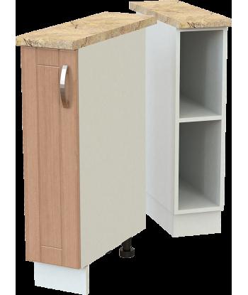 Кухонный однодверный шкаф для бутылок КШС-18, шириной 200 мм