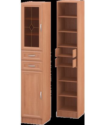 Шкаф для книг ШК-07, ольха