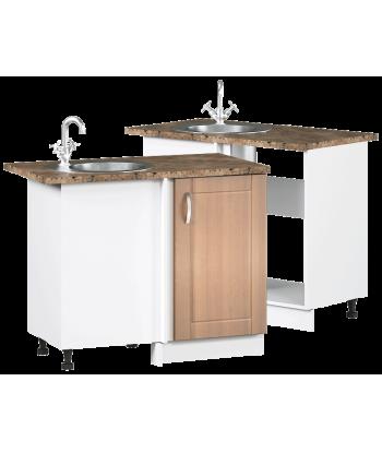 Кухонный угловой шкаф-мойка ШМ-03, шириной 1000 мм