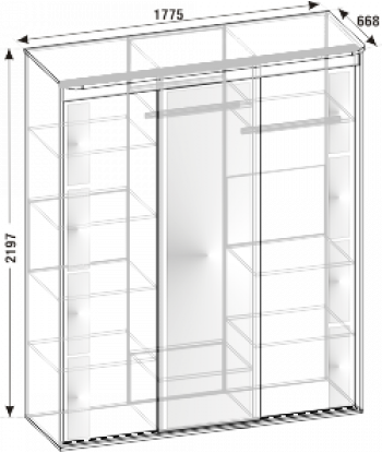 Шкаф-купе ШО-07 (схема)