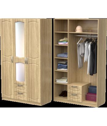 Шкаф для одежды ШО-1200.2 (дуб сонома)