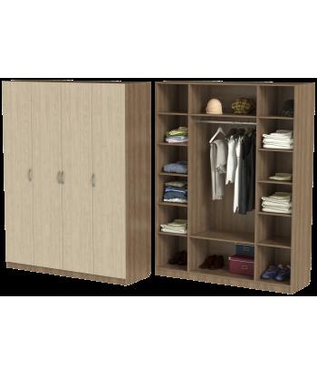 Шкаф для одежды ШО-1600.1 серии New Line (цвет шимо)