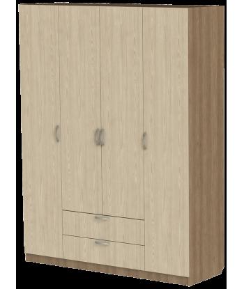 Шкаф для одежды ШО-1600.3 серии New Line (цвет Шимо)