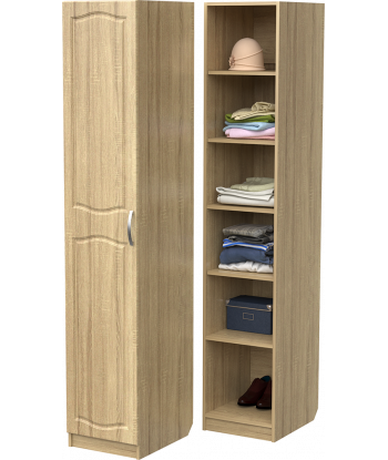 Шкаф для одежды ШО-400.2 (дуб сонома)