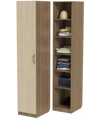 Шкаф для одежды ШО-400.2 (ясень шимо)