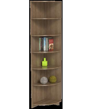 Шкаф для одежды угловой ШО-400УГ серии New Line (цвет шимо)