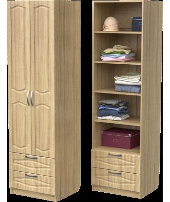 Шкаф для одежды ШО-600.5 (дуб сонома)