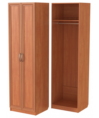 Шкаф для одежды ШО-600.1 (ольха)