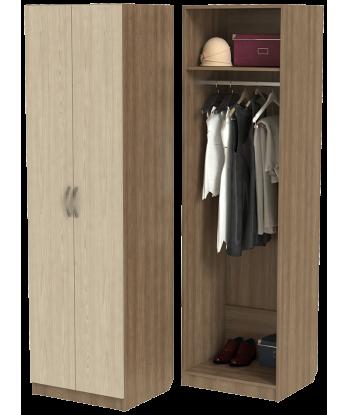 Шкаф для одежды ШО-600.1 (ясень шимо)