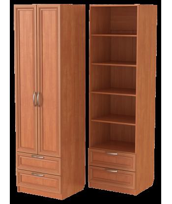 Шкаф для одежды ШО-600.5 (ольха)