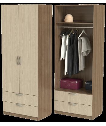 Шкаф для одежды ШО-800.4 серии New Line (цвет шимо)
