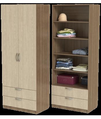 Шкаф для одежды ШО-800.5 серии New Line (цвет шимо)
