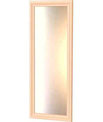 Зеркало ШП-01.4, дуб молочный