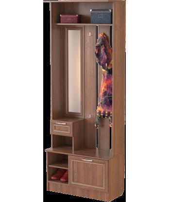 Шкаф для прихожей ШП-02, орех