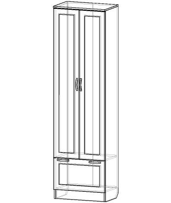 Шкаф для прихожей ШП-03 (схема)