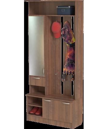 Шкаф для прихожей ШП-04, орех