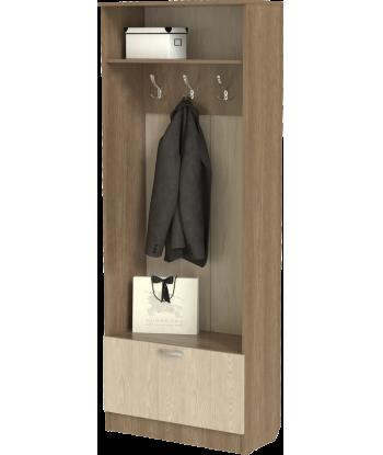 Шкаф для прихожей ШП-11, шимо темный/шимо светлый