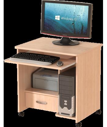 Стол компьютерный СК-01.1, дуб молочный