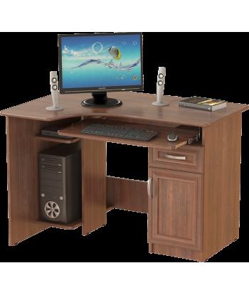 Стол компьютерный СК-09, орех
