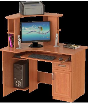 Стол компьютерный СК-10, ольха