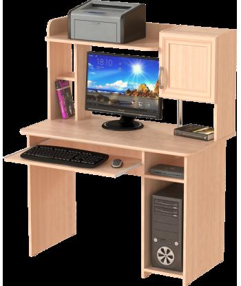 Стол компьютерный СК-12, дуб молочный