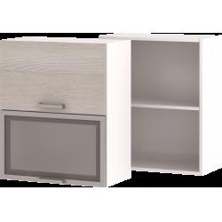 Кухонный навесной шкаф со стеклом НШ-04_ВГ