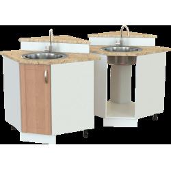Кухонный угловой шкаф-мойка ШМ-04.1