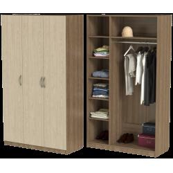 Шкаф для одежды ШО-1200.1 серии New Line (цвет шимо)
