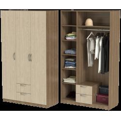 Шкаф для одежды ШО-1200.2 серии New Line (цвет шимо)