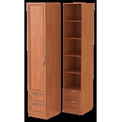 Шкаф для одежды ШО-400.5 (ольха)