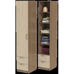 Шкаф для одежды ШО-400.5 серии New Line (цвет шимо)