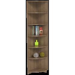 Шкаф для одежды угловой ШО-400УГ (ясень шимо тёмный)