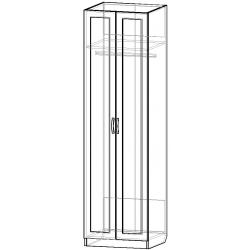 Шкаф для одежды ШО-600.1 серии New Line (схема)