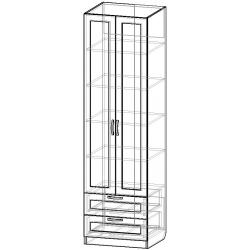 Шкаф для одежды ШО-600.5 (схема)
