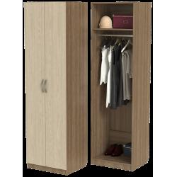 Шкаф для одежды ШО-600.1 серии New Line (цвет шимо)