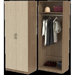 Шкаф для одежды ШО-800.1 серии New Line (цвет шимо)
