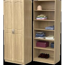 Шкаф для одежды ШО-800.2 (дуб сонома)