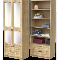 Шкаф для одежды ШО-800.5 (дуб сонома)