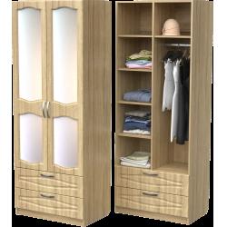 Шкаф для одежды ШО-800.6 (дуб сонома)