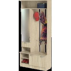 Шкаф для прихожей ШП-04, дуб сонома