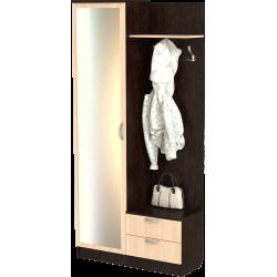 Шкаф для прихожей ШП-08, ВМ (венге + дуб молочный)