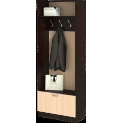 Шкаф для прихожей ШП-11, МВ (дуб молочный + венге)